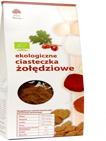 Organic acorn flour cookie