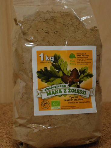 Organic acorn flour